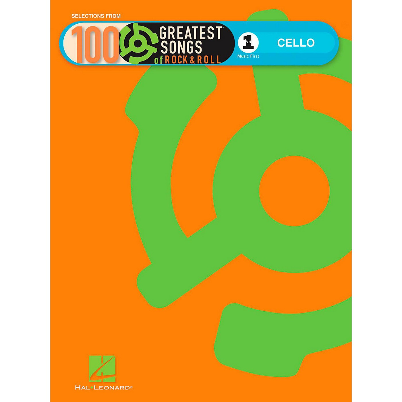 Hal Leonard VH1's 100 Greatest Songs Of Rock & Roll Cello (Book Only) thumbnail