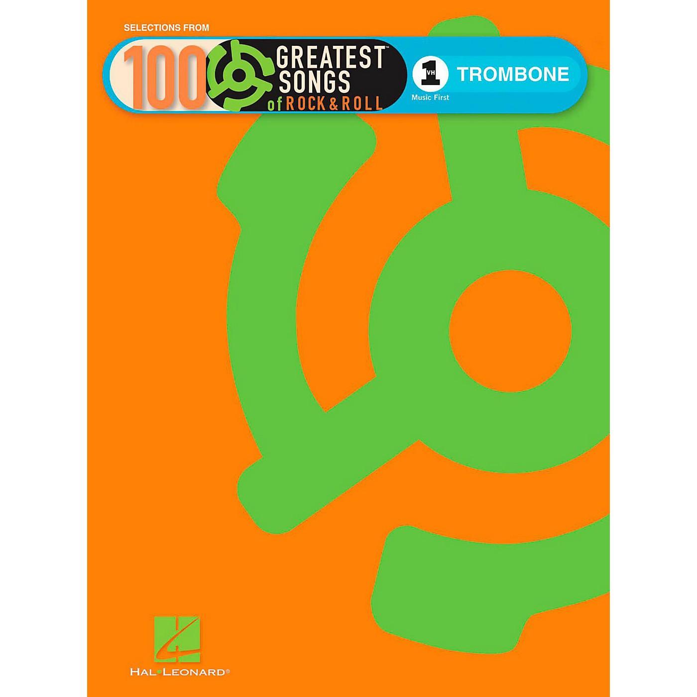 Hal Leonard VH1's 100 Greatest Songs Of Rock & Roll Trombone (Book Only) thumbnail
