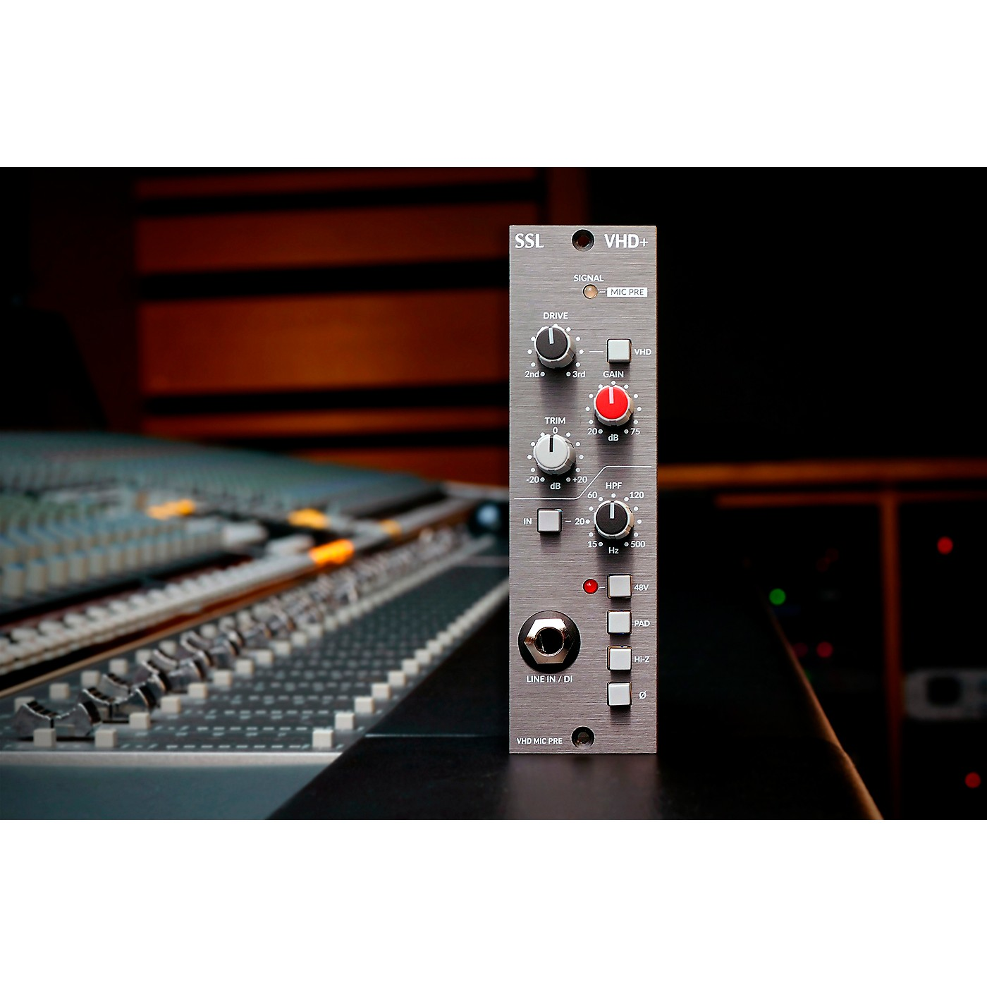 Solid State Logic VHD+ 500 Series Preamp thumbnail