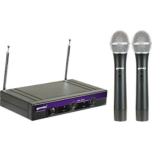 Gemini VHF-2001M Dual Handheld Wireless System-thumbnail
