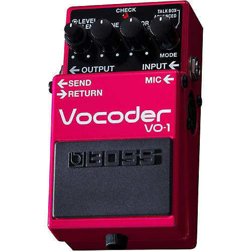 Boss VO-1 Vocoder Effects Pedal thumbnail