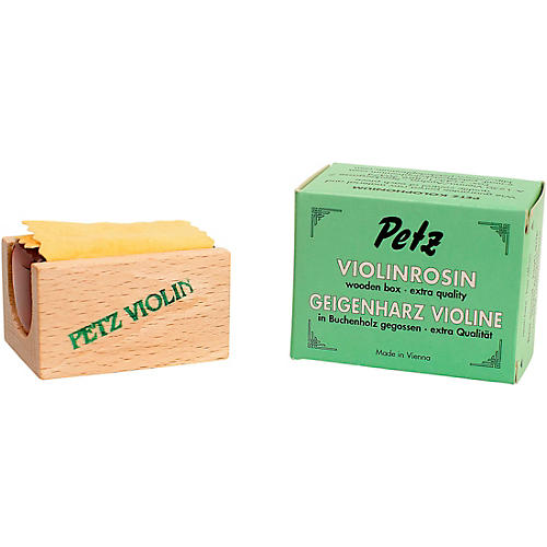 Petz VP-053V Beech Wood Pack Violin and Viola Rosin thumbnail