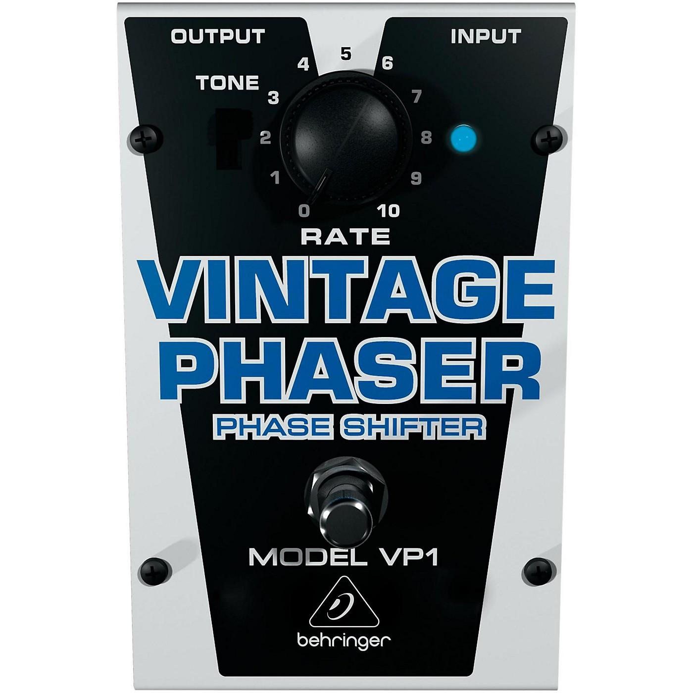 Behringer VP1 Vintage Phaser Effects Pedal thumbnail