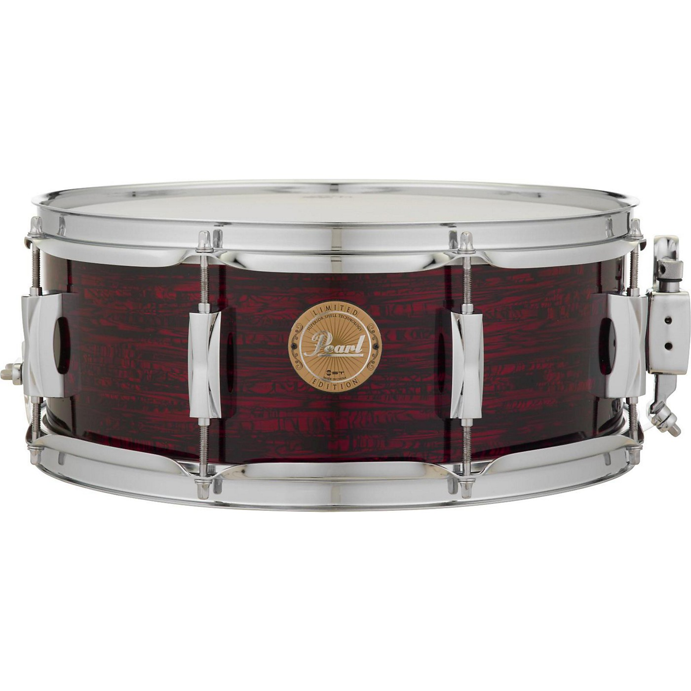 Pearl VPX Strata Red Birch Snare Drum thumbnail
