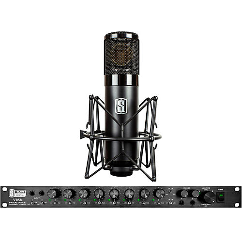 Slate Digital VRS8 Thunderbolt Audio Interface and ML-1 Large-Diaphragm Modeling Microphone thumbnail