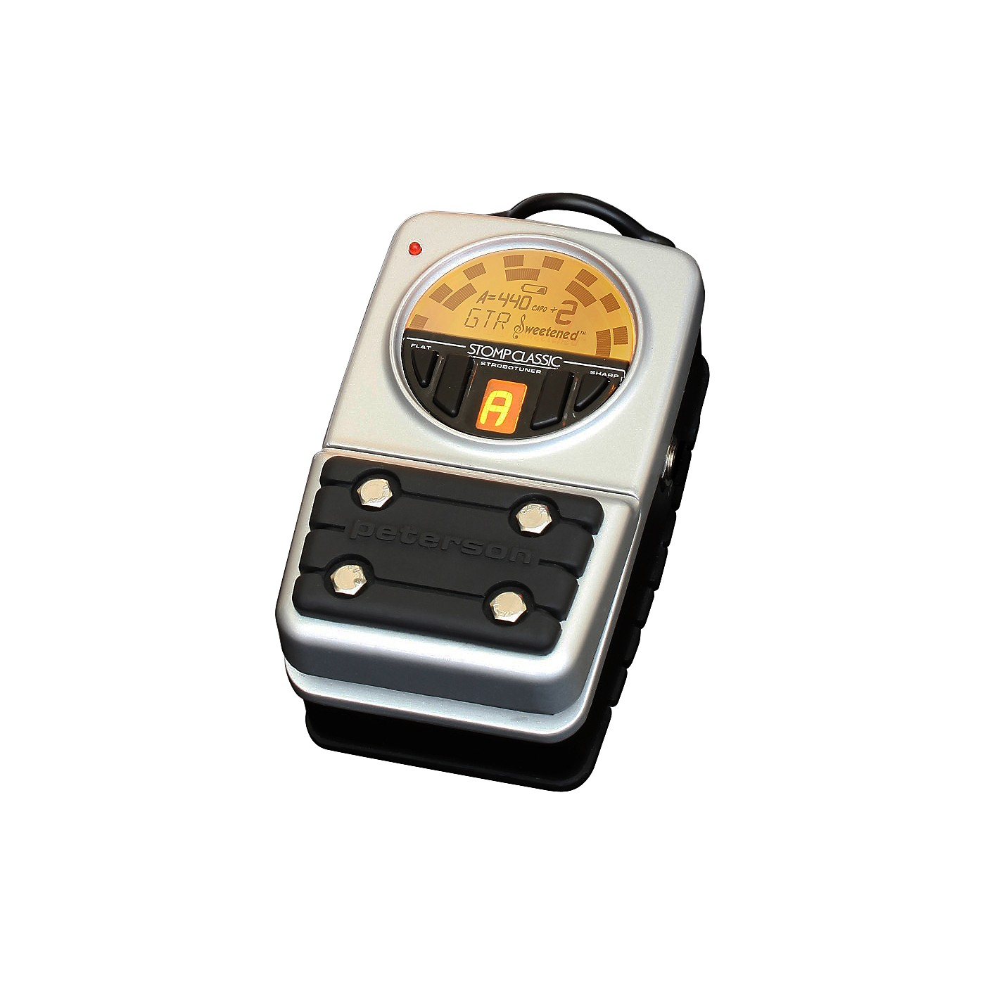 Peterson VSS-C Stomp Classic Strobotuner Pedal Tuner thumbnail