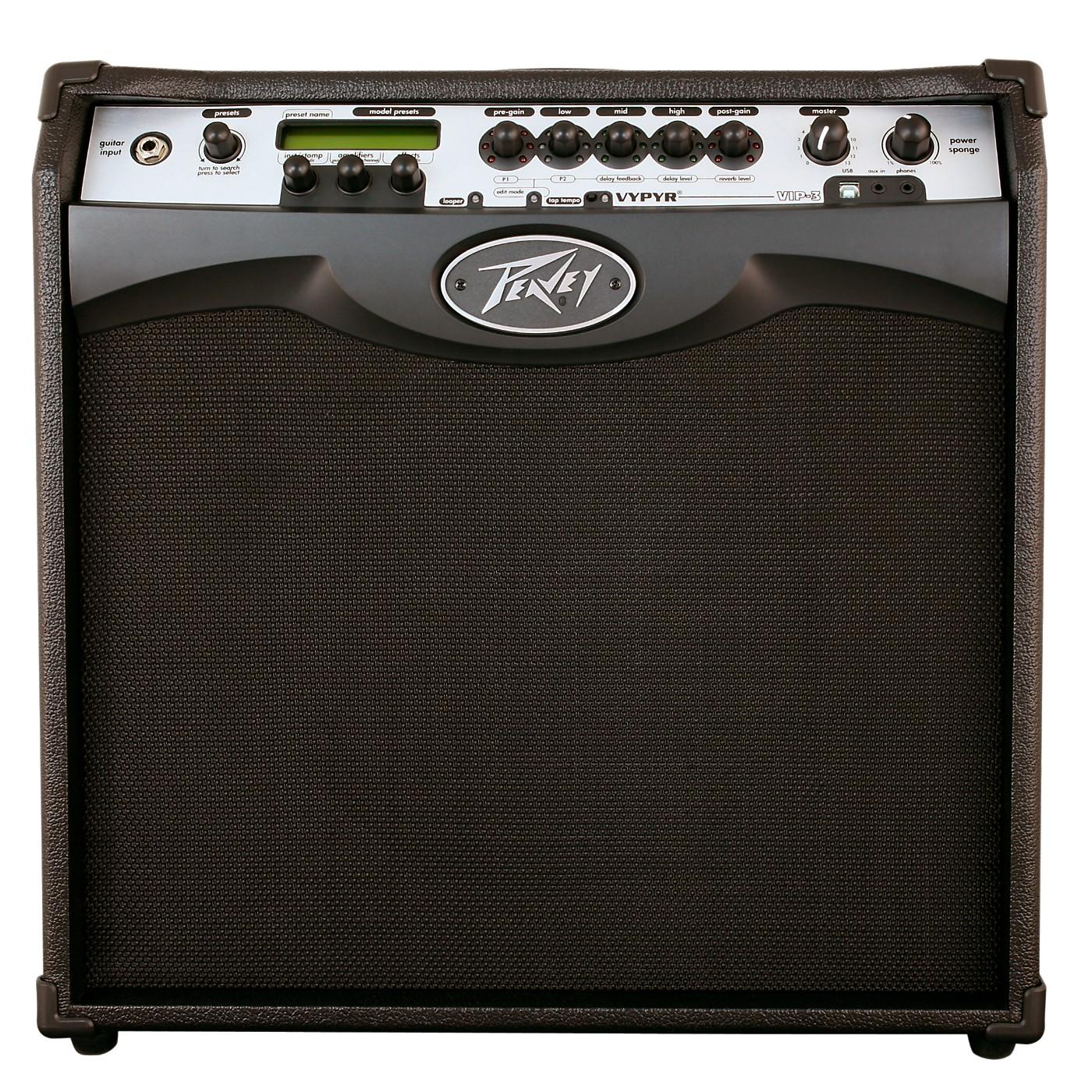Peavey VYPYR VIP 3 100W 1x12 Guitar Modeling Combo Amp thumbnail