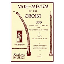Southern Vade Mecum of the Oboist (230 Selected Technical and Orchestral Studies) Southern Music Series Book