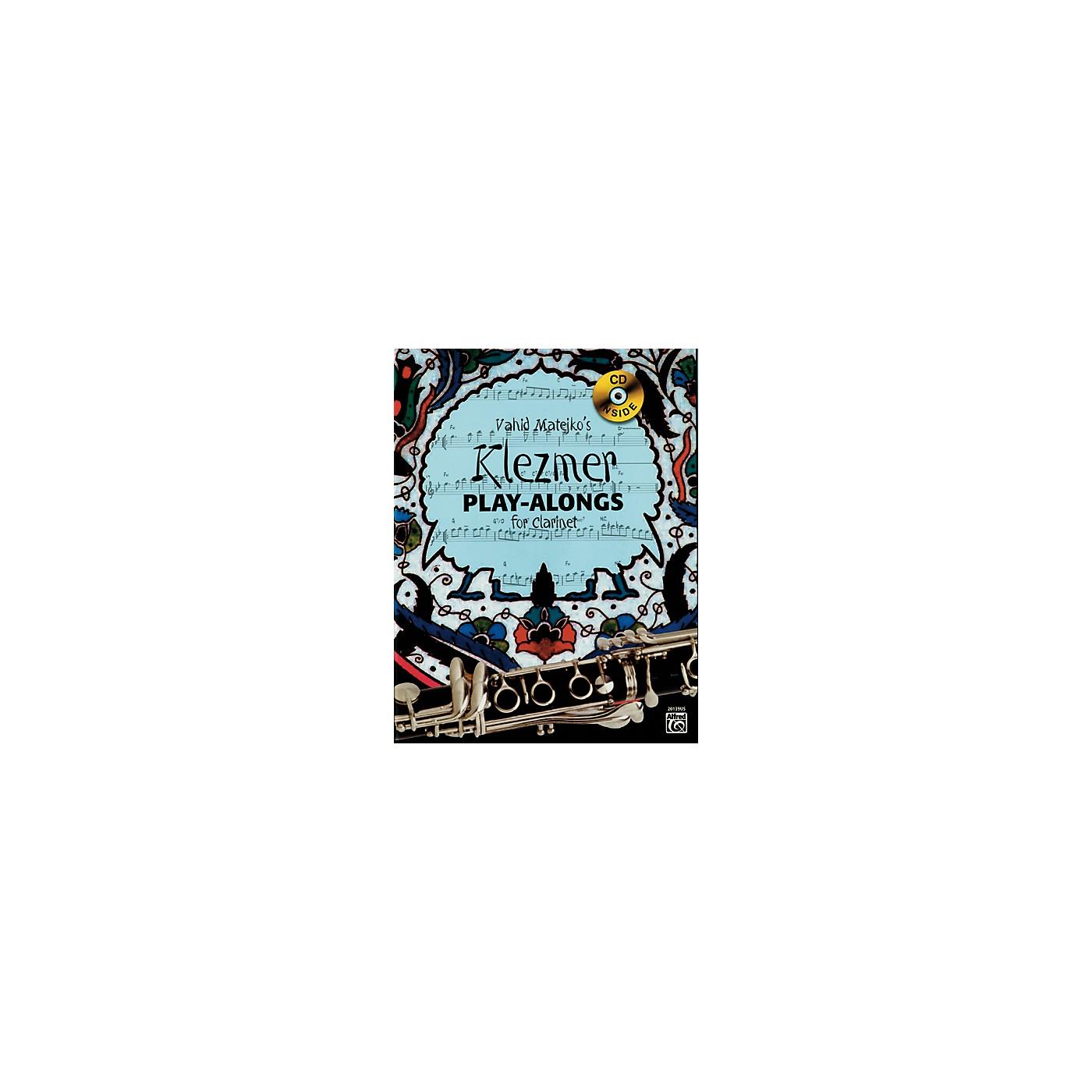 Alfred Vahid Matejko's Klezmer Play-Alongs for Clarinet Book & CD thumbnail