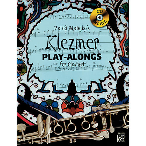 Alfred Vahid Matejko's Klezmer Play-Alongs for Clarinet Book & CD-thumbnail
