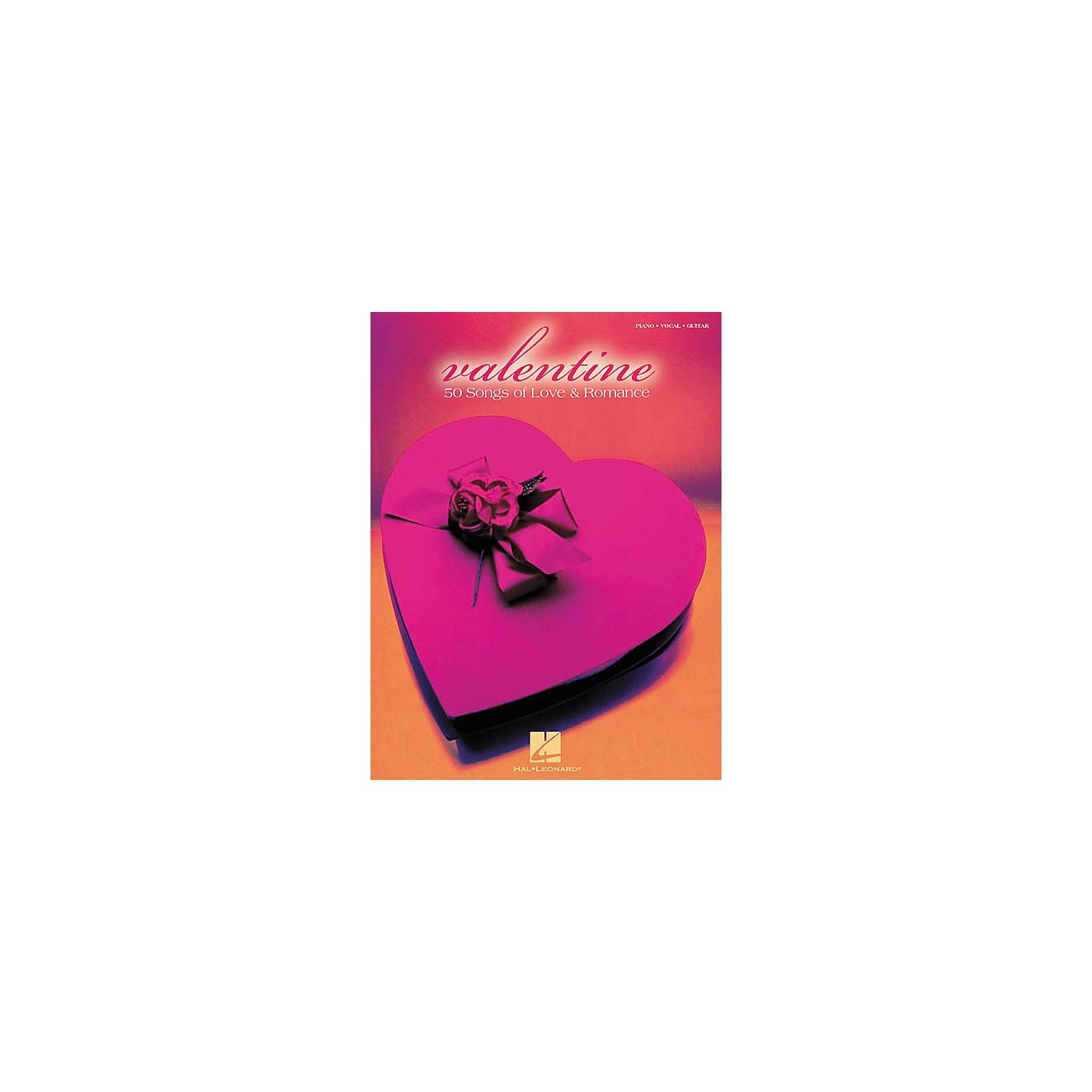 Hal Leonard Valentine Piano, Vocal, Guitar Songbook thumbnail