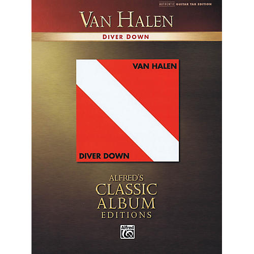 Alfred Van Halen - Diver Down Guitar Recorded Version Series Softcover Performed by Van Halen thumbnail