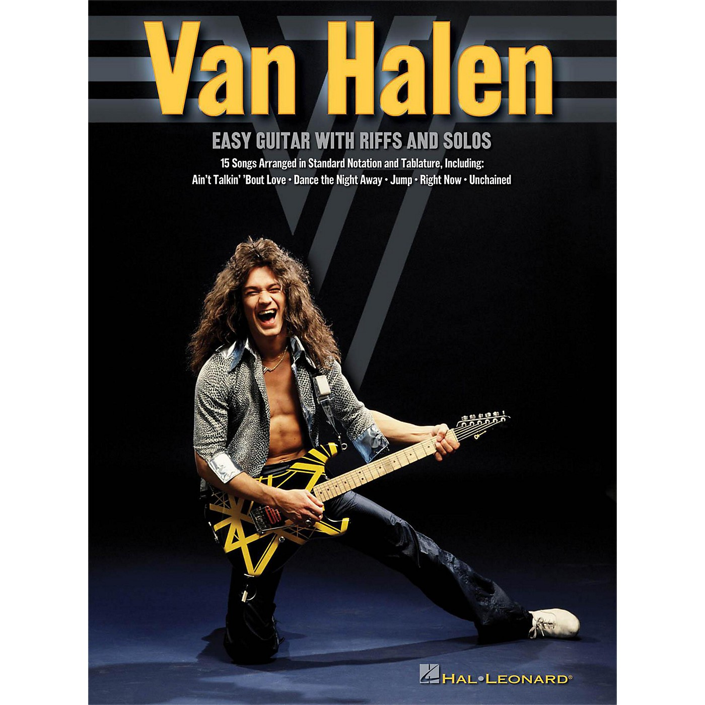 Hal Leonard Van Halen - Easy Guitar With Riffs And Solos (With Tab) thumbnail