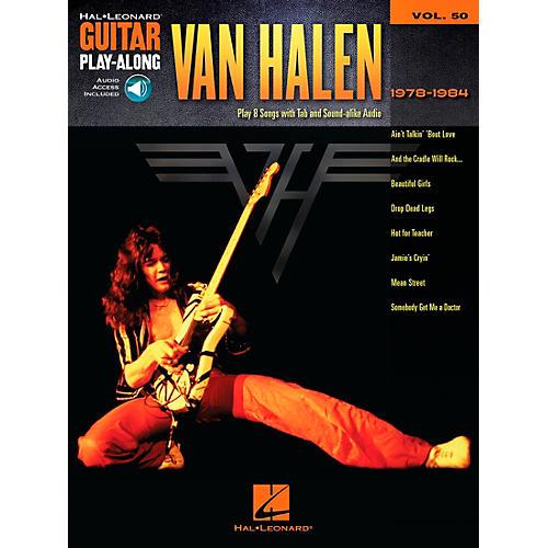 Hal Leonard Van Halen 1978-1984 - Guitar Play-Along Vol. 50 Book/CD thumbnail