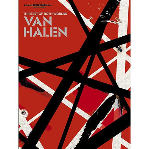 Alfred Van Halen Best of Both Worlds Guitar Tab Songbook thumbnail
