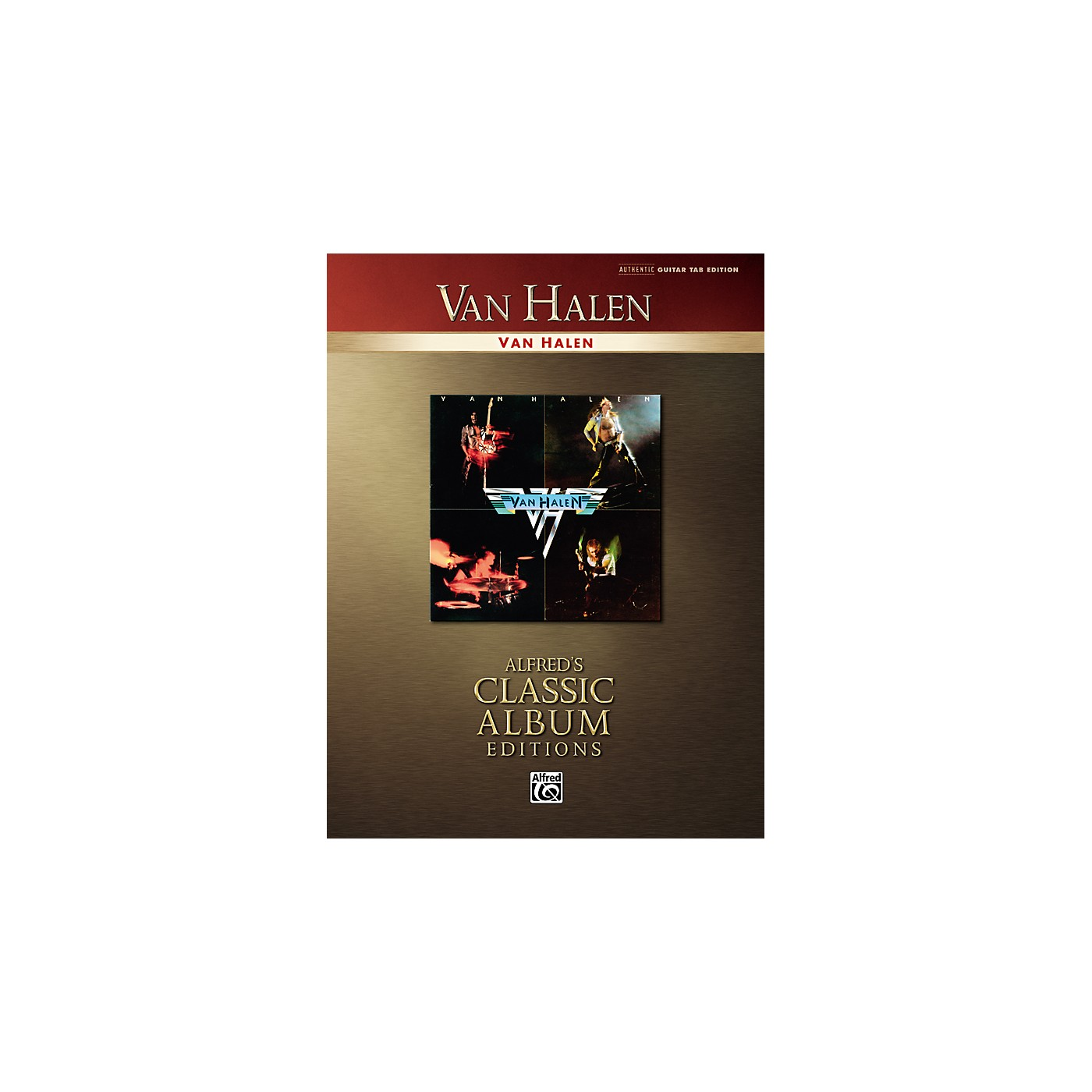 Alfred Van Halen Collection Classic Album Edition Guitar Tab Songbook thumbnail