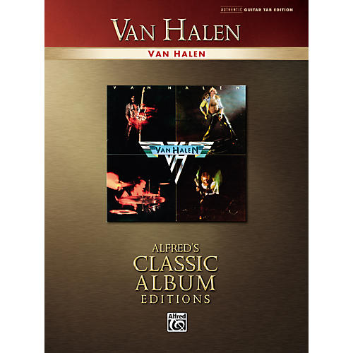 Alfred Van Halen Collection Classic Album Edition Guitar Tab Songbook-thumbnail