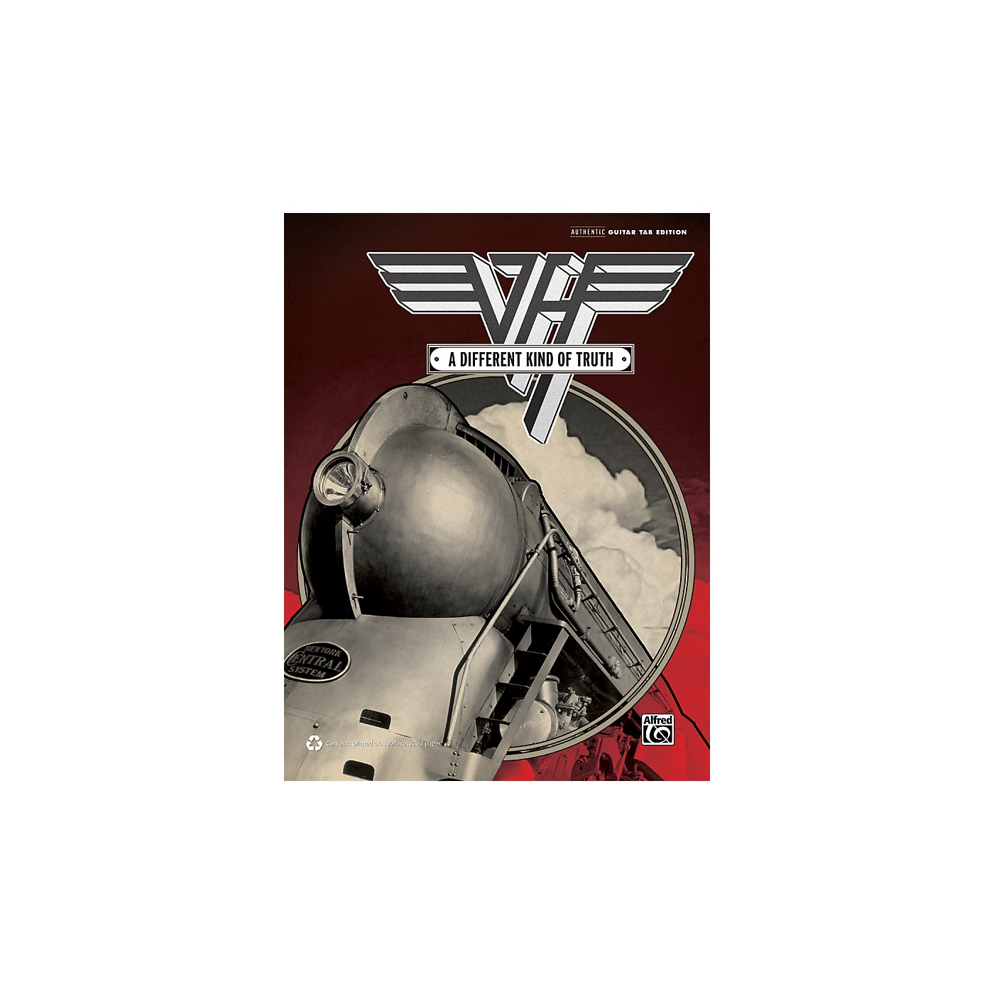 Alfred Van Halen Different Kind of Truth Guitar TAB Book thumbnail