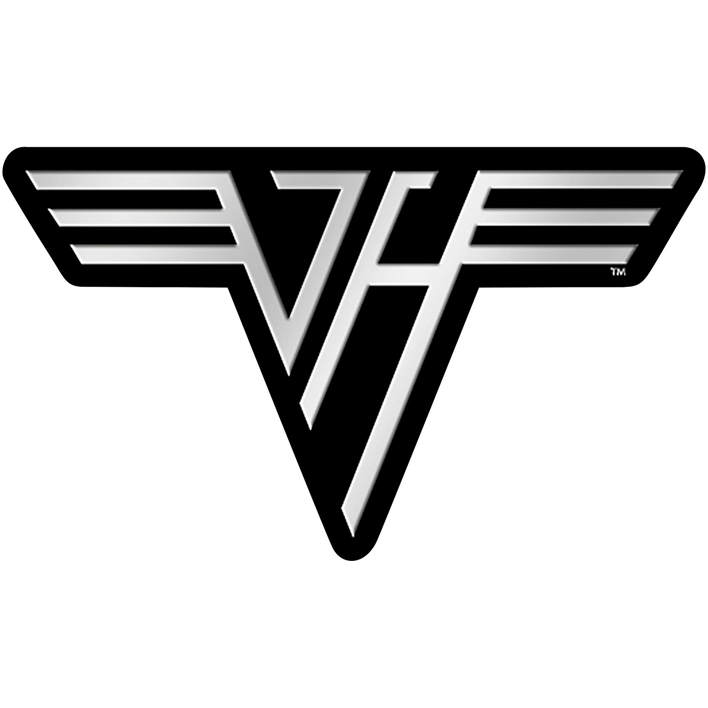 C&D Visionary Van Halen Logo Metal Sticker thumbnail