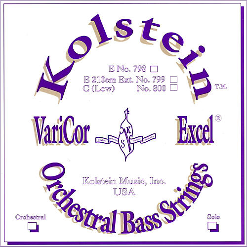 Kolstein VariCor Excel Orchestral Bass Strings-thumbnail