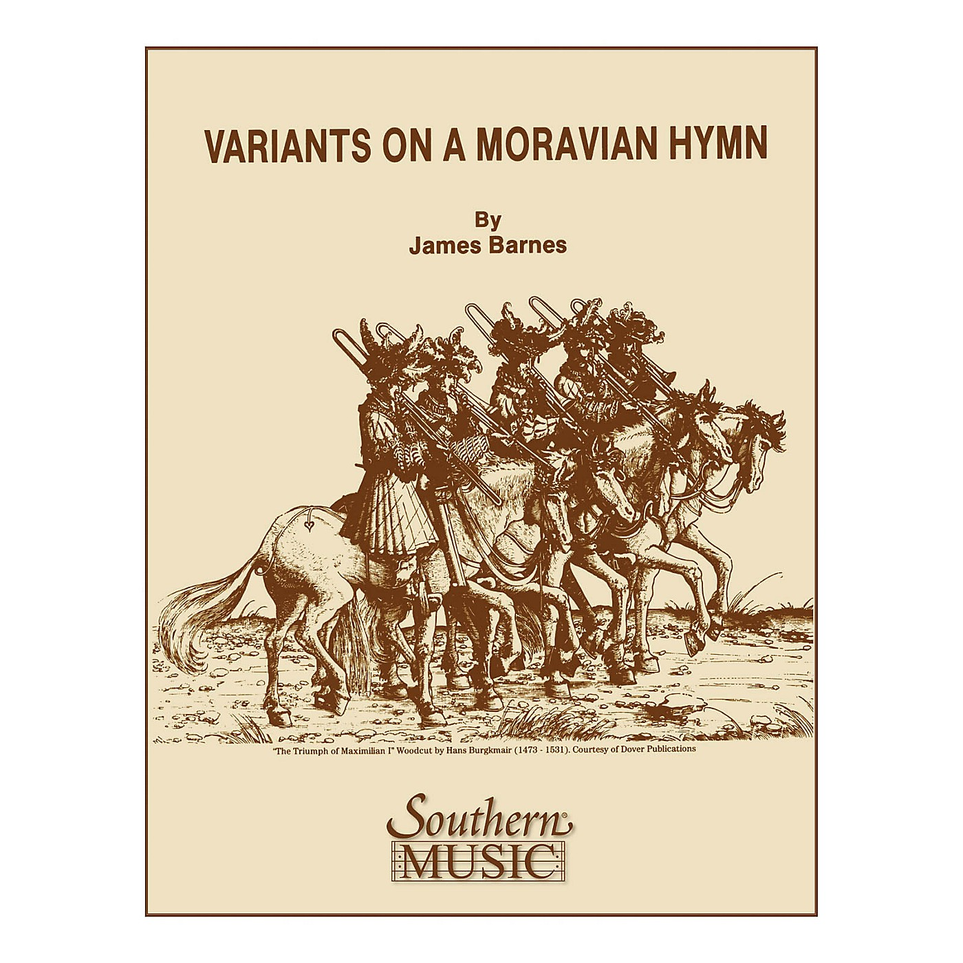 Southern Variants on a Moravian Hymn Concert Band Level 4 Composed by James Barnes thumbnail