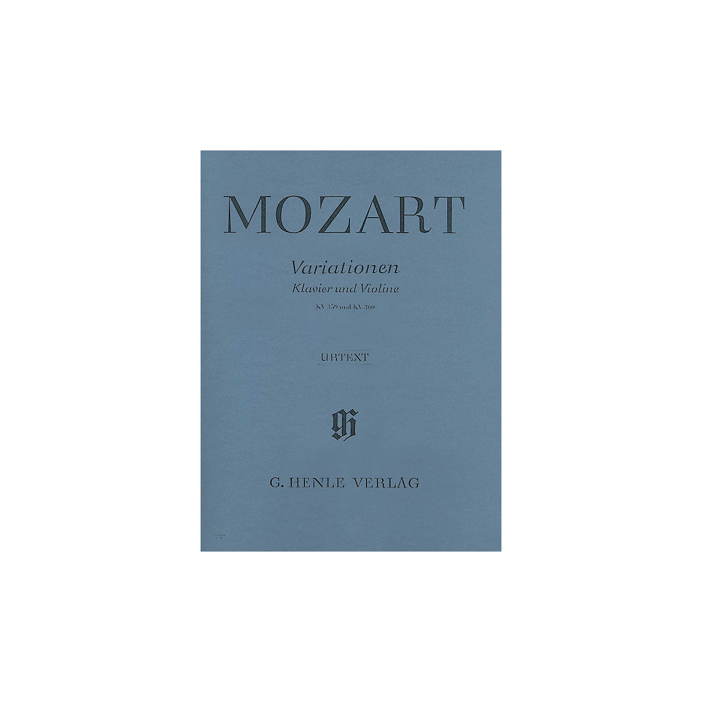 G. Henle Verlag Variations for Piano and Violin Henle Music Folios Series Softcover thumbnail