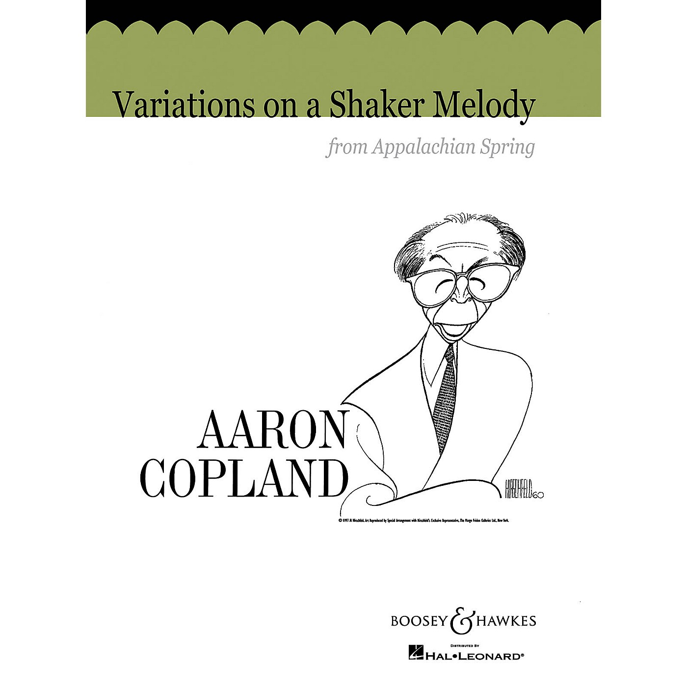 Boosey and Hawkes Variations on a Shaker Melody from Appalachian Spring Concert Band Composed by Aaron Copland thumbnail