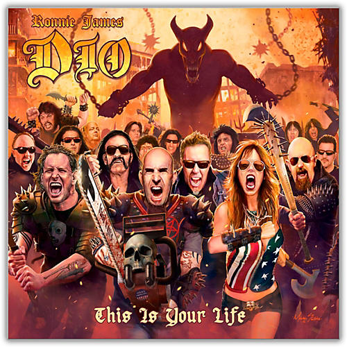 WEA Various Artists - A Tribute to Ronnie James Dio: This Is Your Life Vinyl LP thumbnail