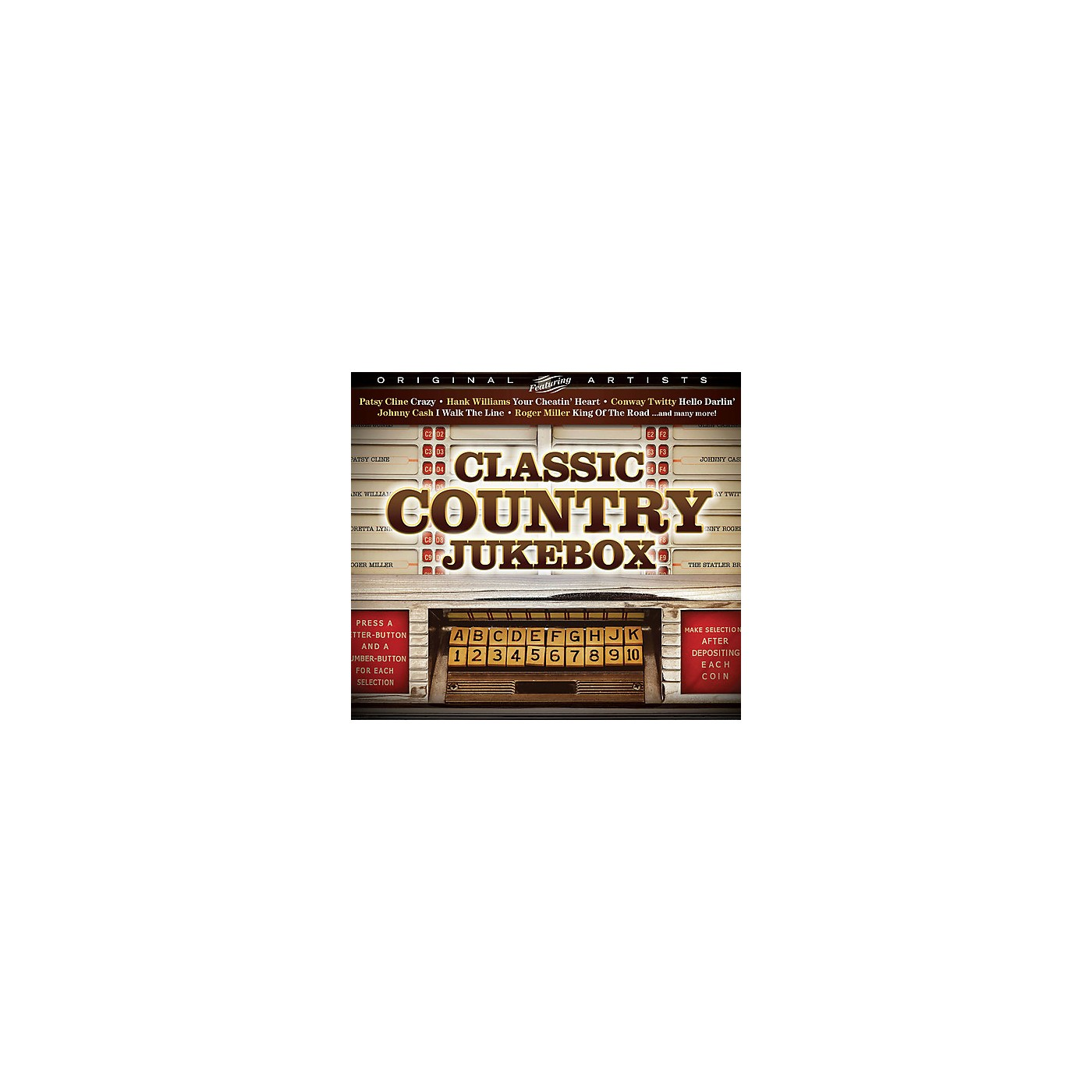 Alliance Various Artists - Classic Country Jukebox (CD) thumbnail