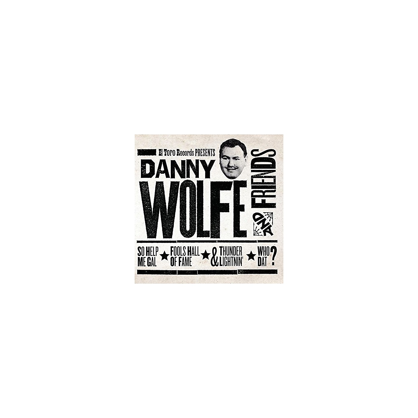 Alliance Various Artists - Danny Wolfe & Friends / Various thumbnail