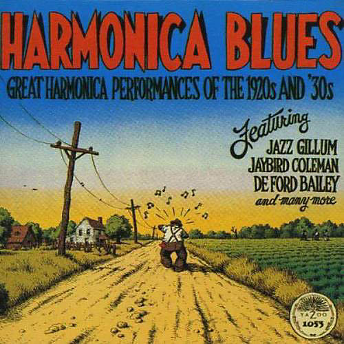 Alliance Various Artists - Great Harmonica Performances of the 1920's & 30's thumbnail
