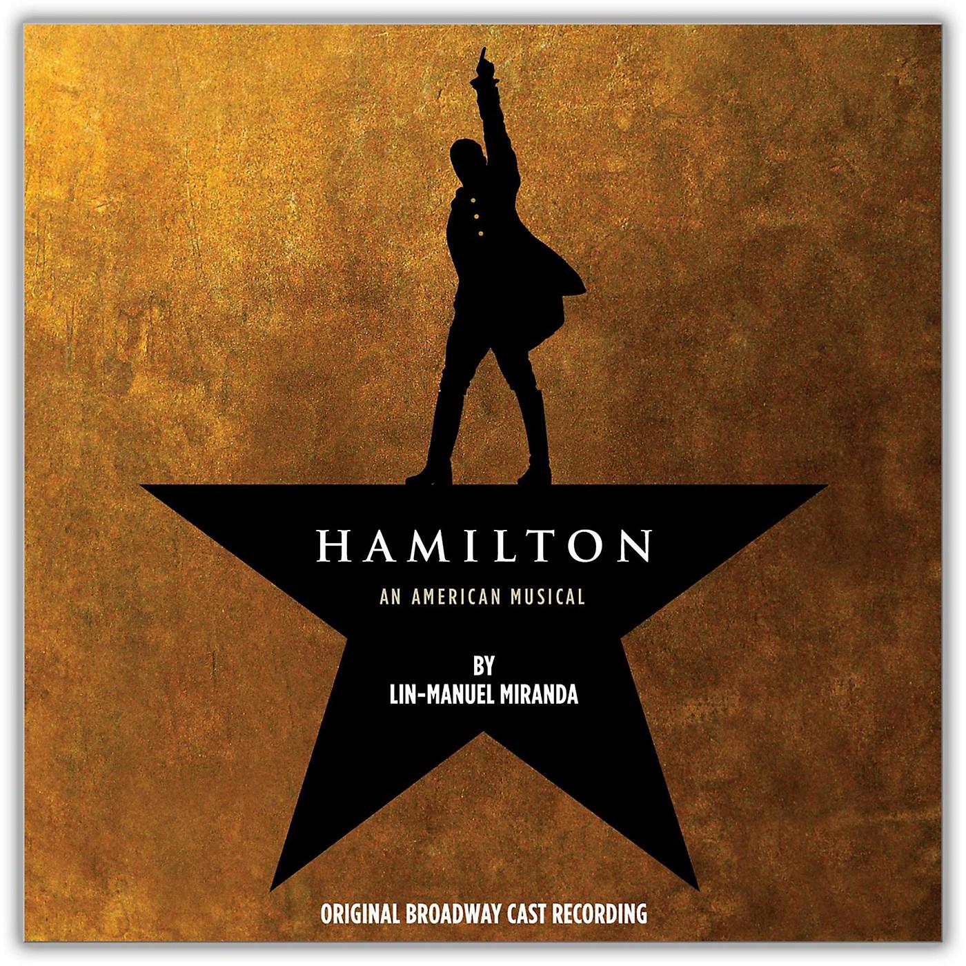 WEA Various Artists - Hamilton (Original Broadway Cast Recording) (Explicit) 4LP Vinyl thumbnail