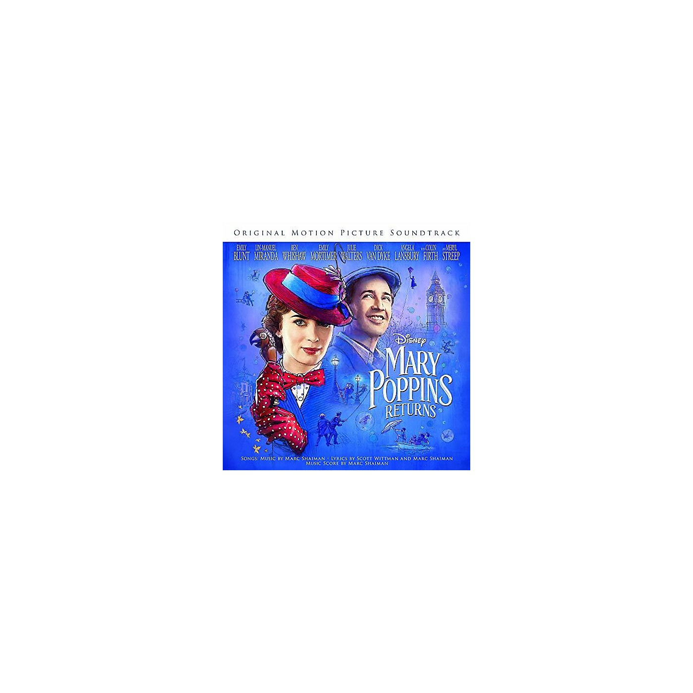 Alliance Various Artists - Mary Poppins Returns (Original Motion Picture Soundtrack) (CD) thumbnail
