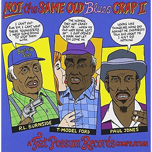 Alliance Various Artists - Not the Same Old Blues Crap 2 thumbnail