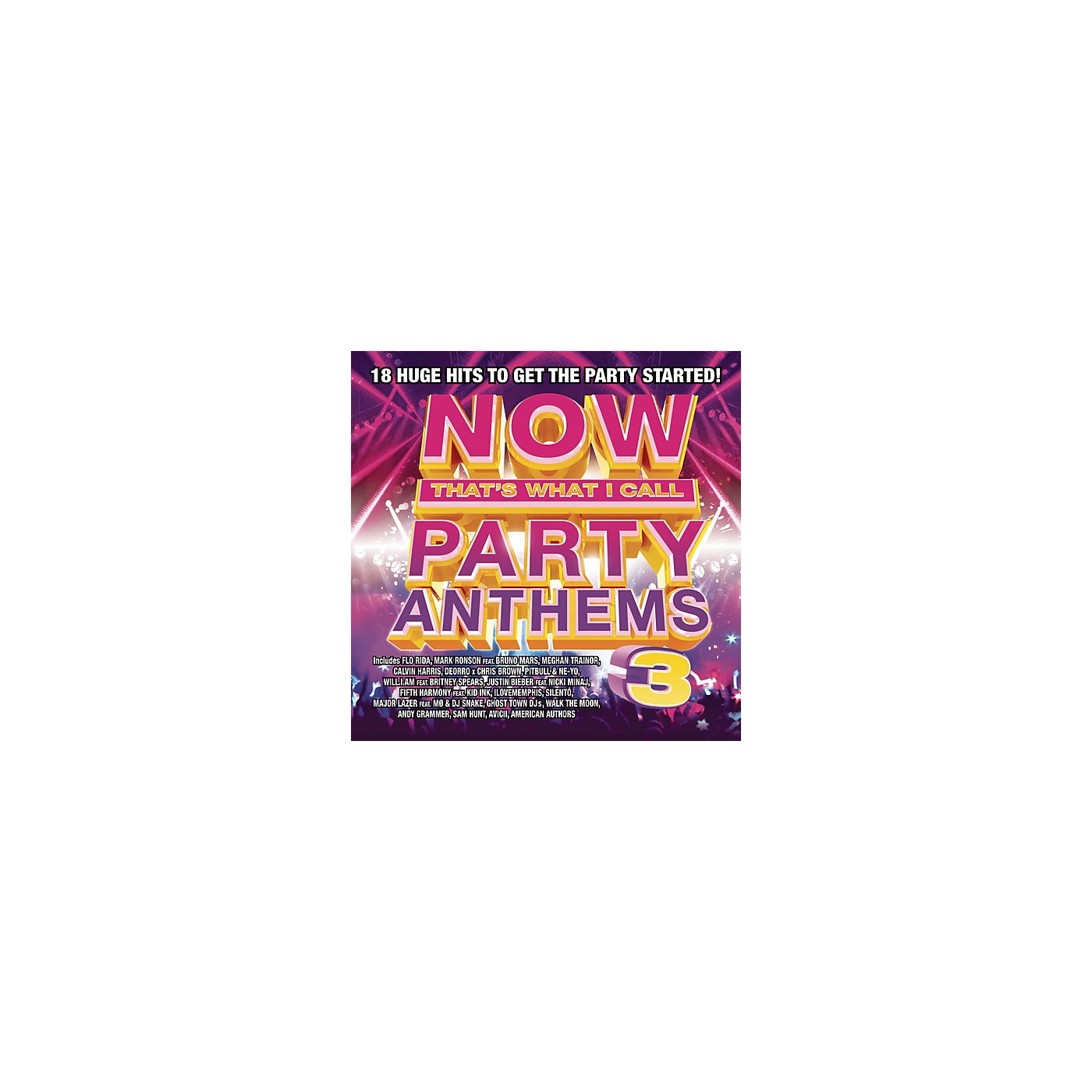 Alliance Various Artists - Now That's What I Call Party Anthems Volume 3 (CD) thumbnail