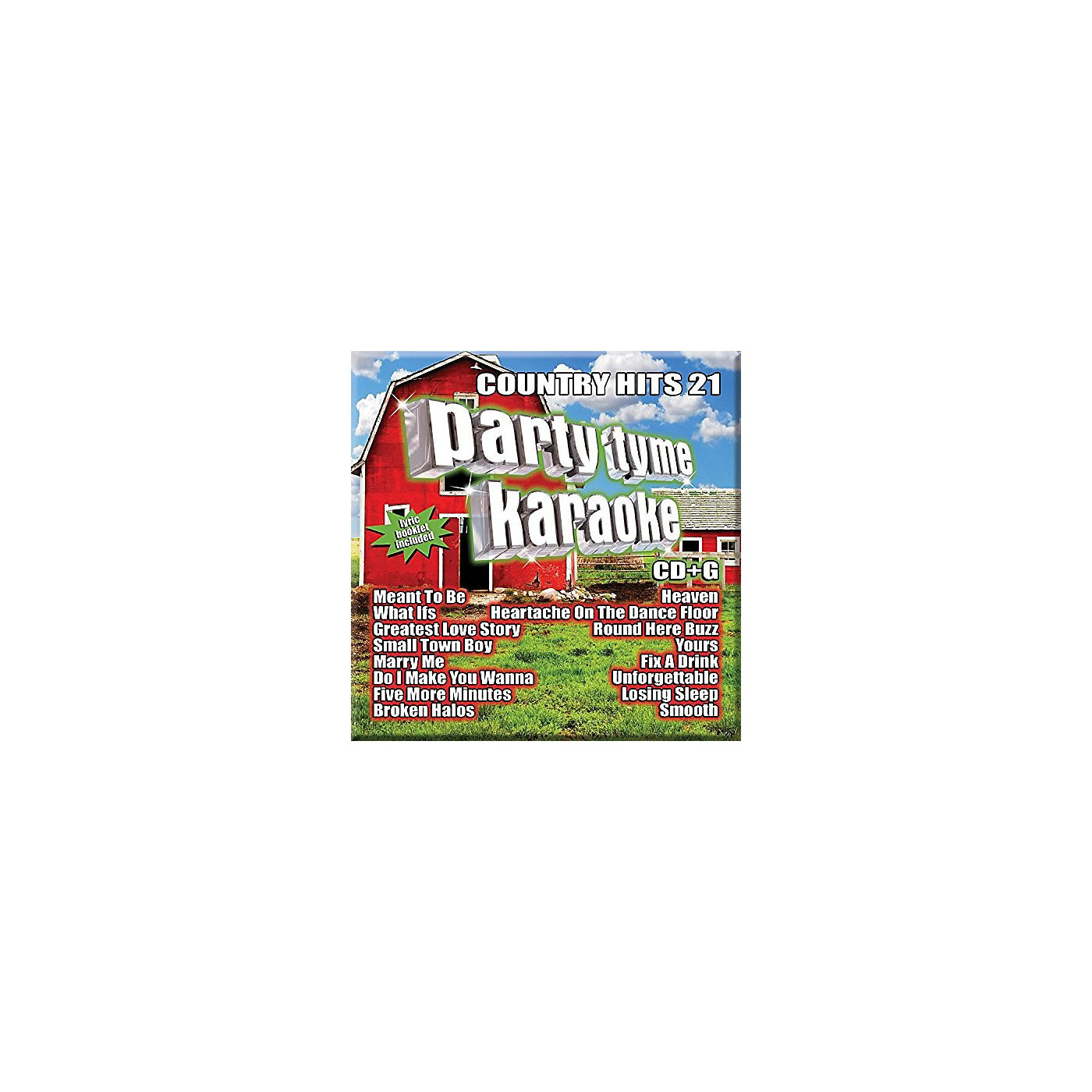 Alliance Various Artists - Party Tyme Karaoke - Country Hits 21 (CD) thumbnail