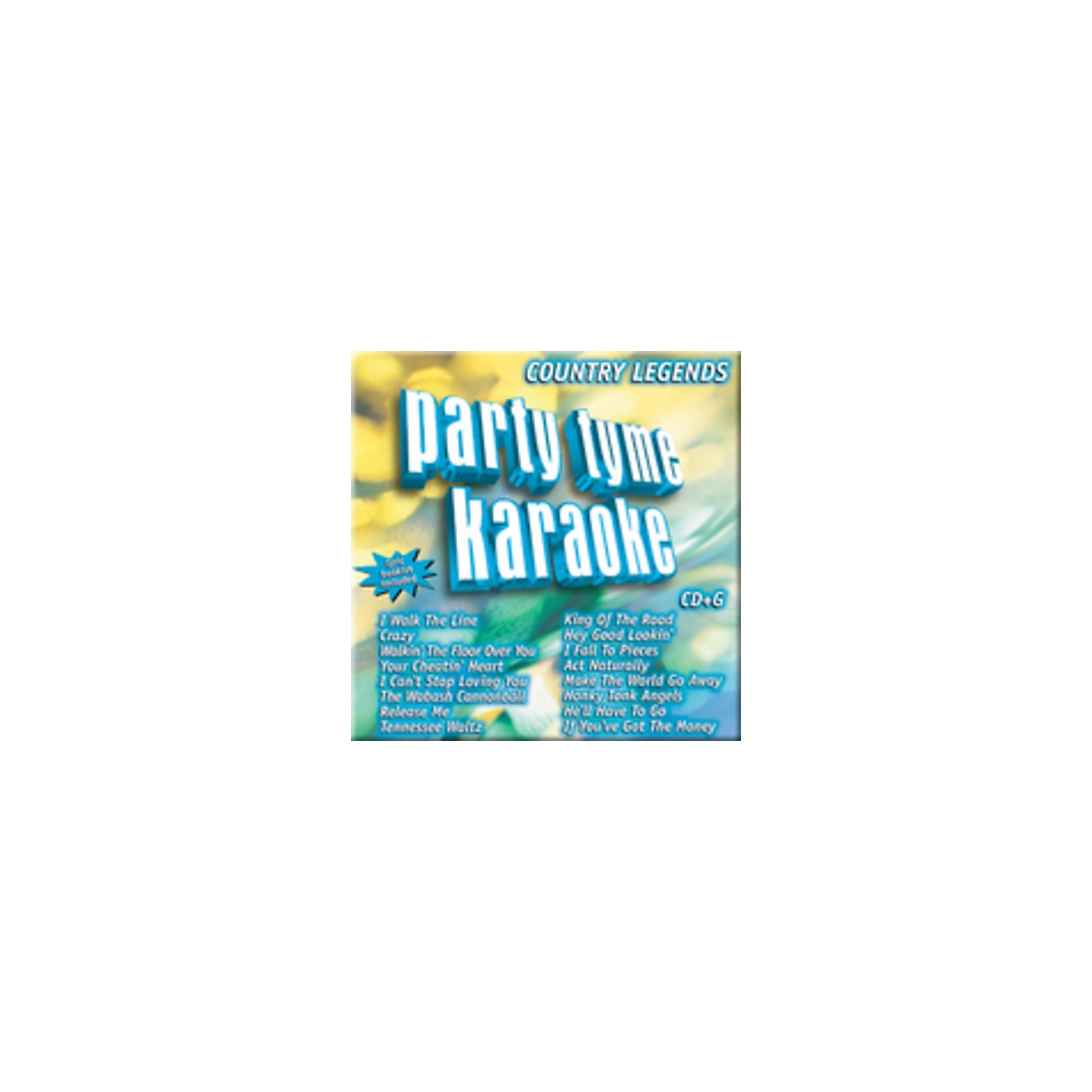 Alliance Various Artists - Party Tyme Karaoke: Country Legends (CD) thumbnail