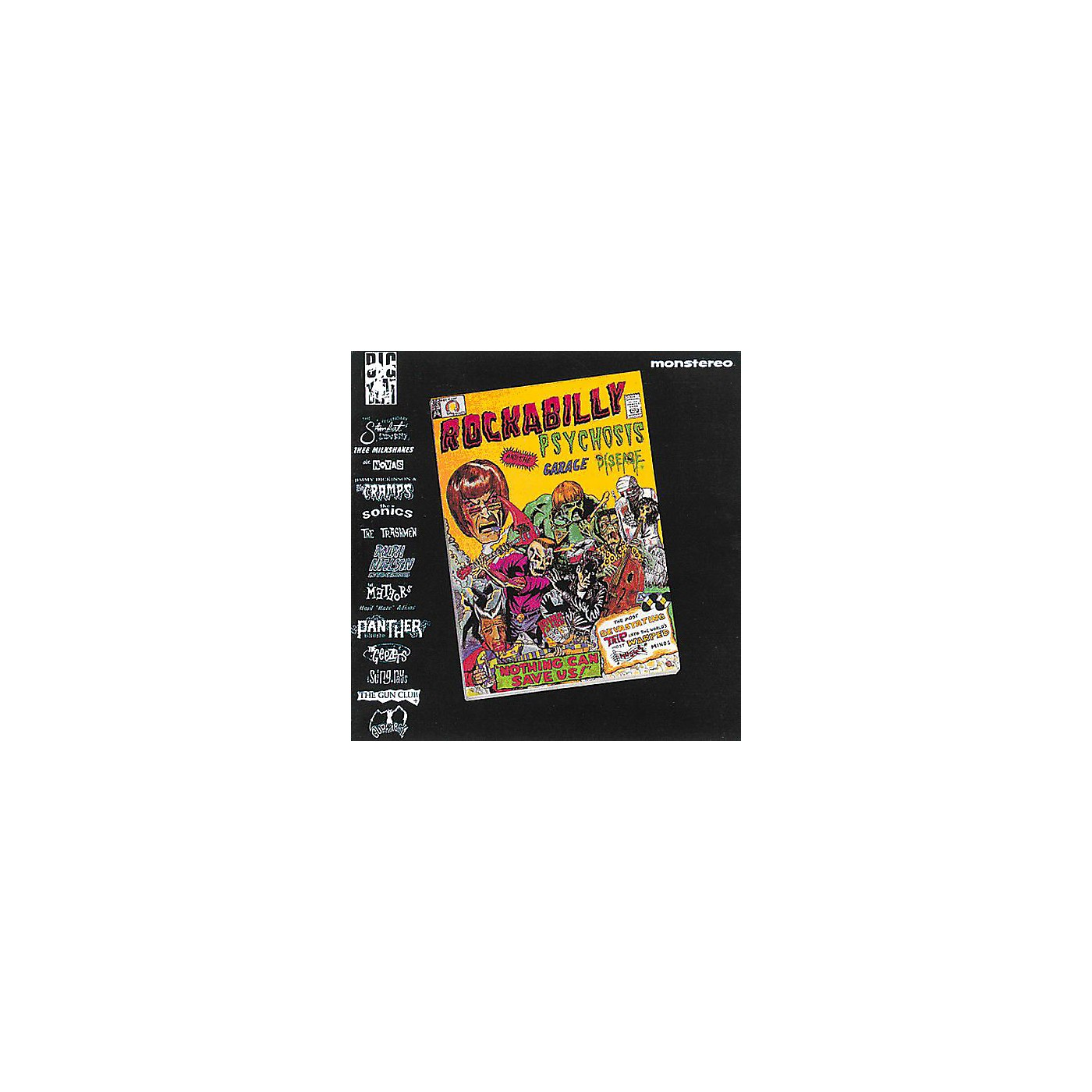 Alliance Various Artists - Rockabilly Psychosis and The Garage Disease thumbnail