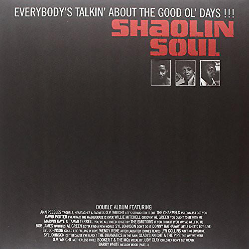 Alliance Various Artists - Shaolin Soul Everybody 1 / Various thumbnail