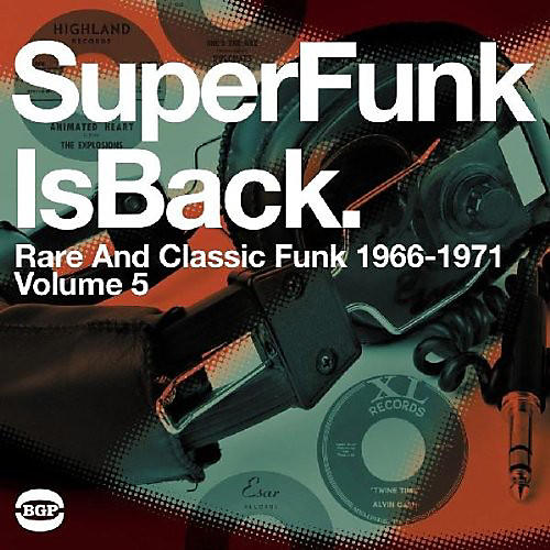 Alliance Various Artists - Super Funk Is Back Vol 5: Rare & Classic Fun / Various thumbnail