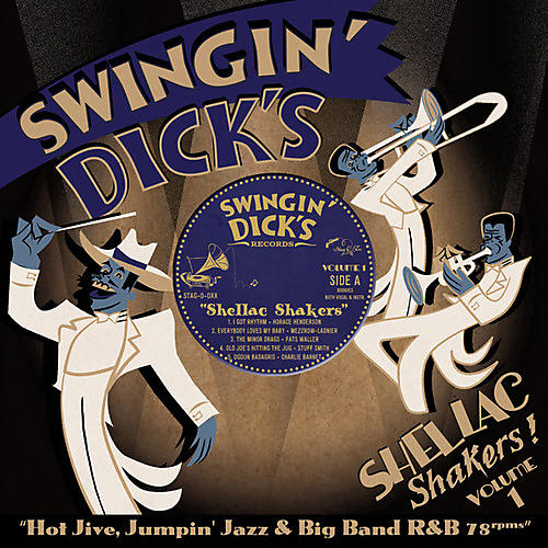Alliance Various Artists - Swingin' Dick's Shellac Shakers 1: Hot Jive / Var thumbnail