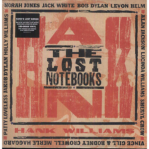 Alliance Various Artists - The Lost Notebooks Of Hank Williams thumbnail