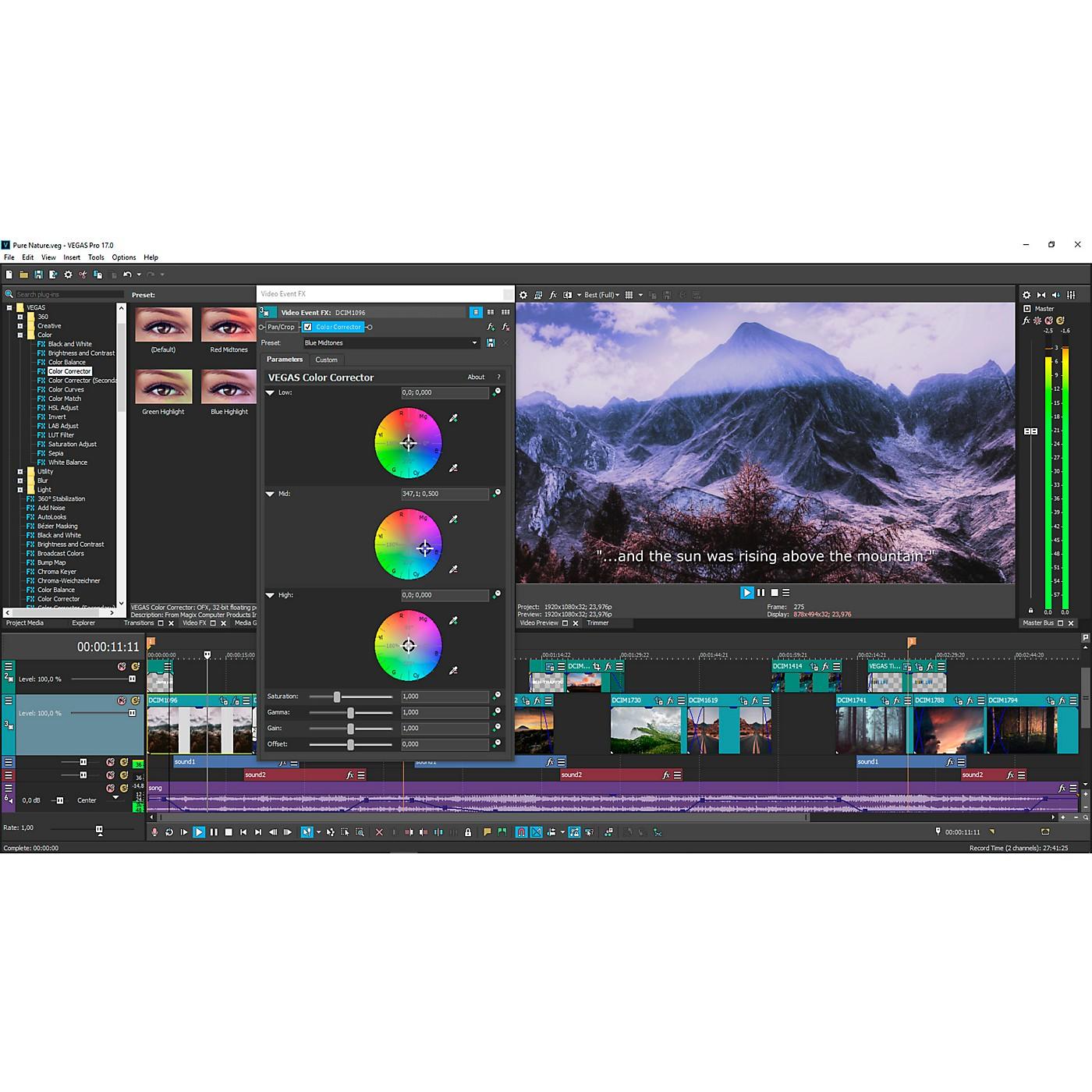 Magix Vegas Pro 17 Upgrade (Download) thumbnail
