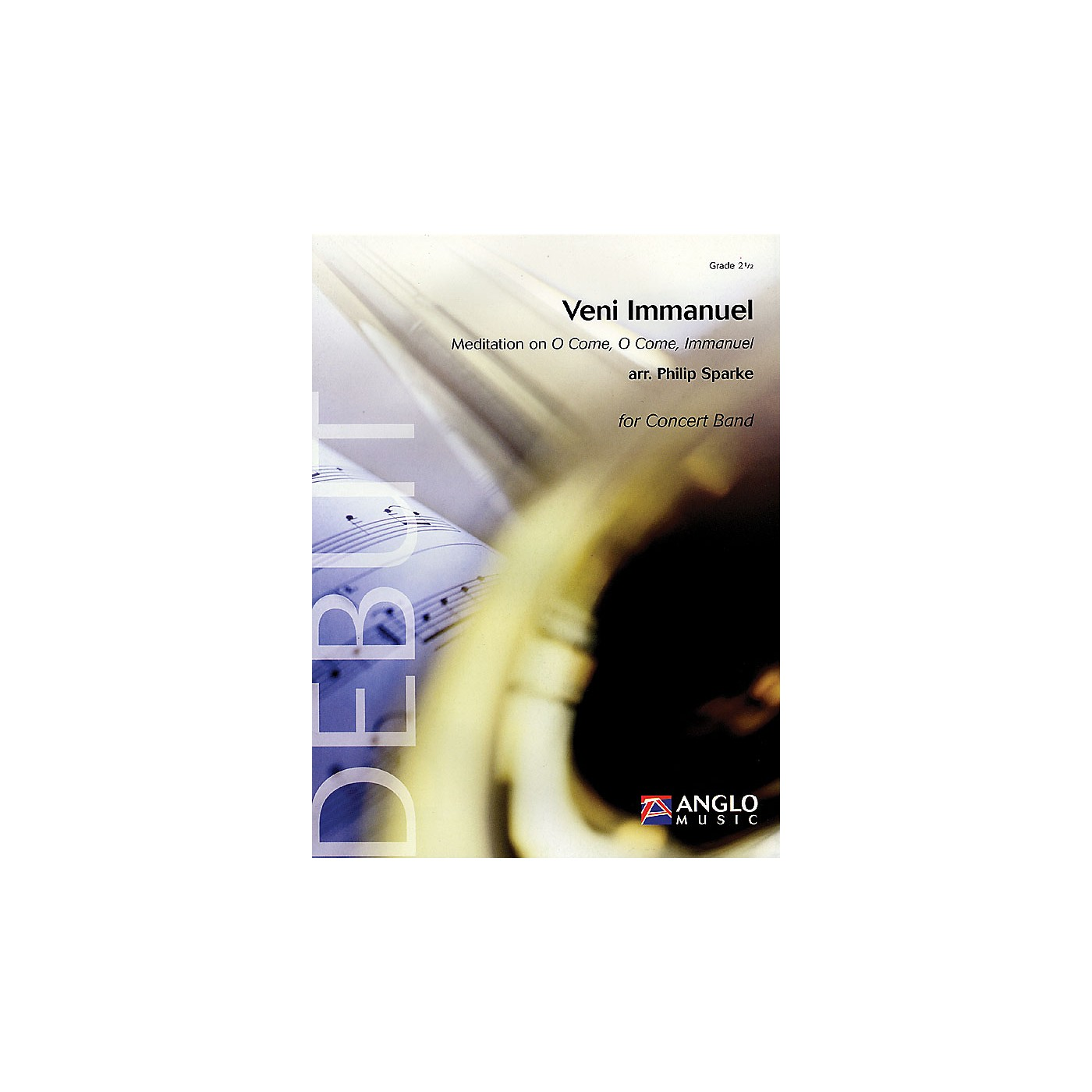 Anglo Music Press Veni Immanuel (Meditation on O Come, O Come, Immanuel) Concert Band Level 2.5 Arranged by Philip Sparke thumbnail