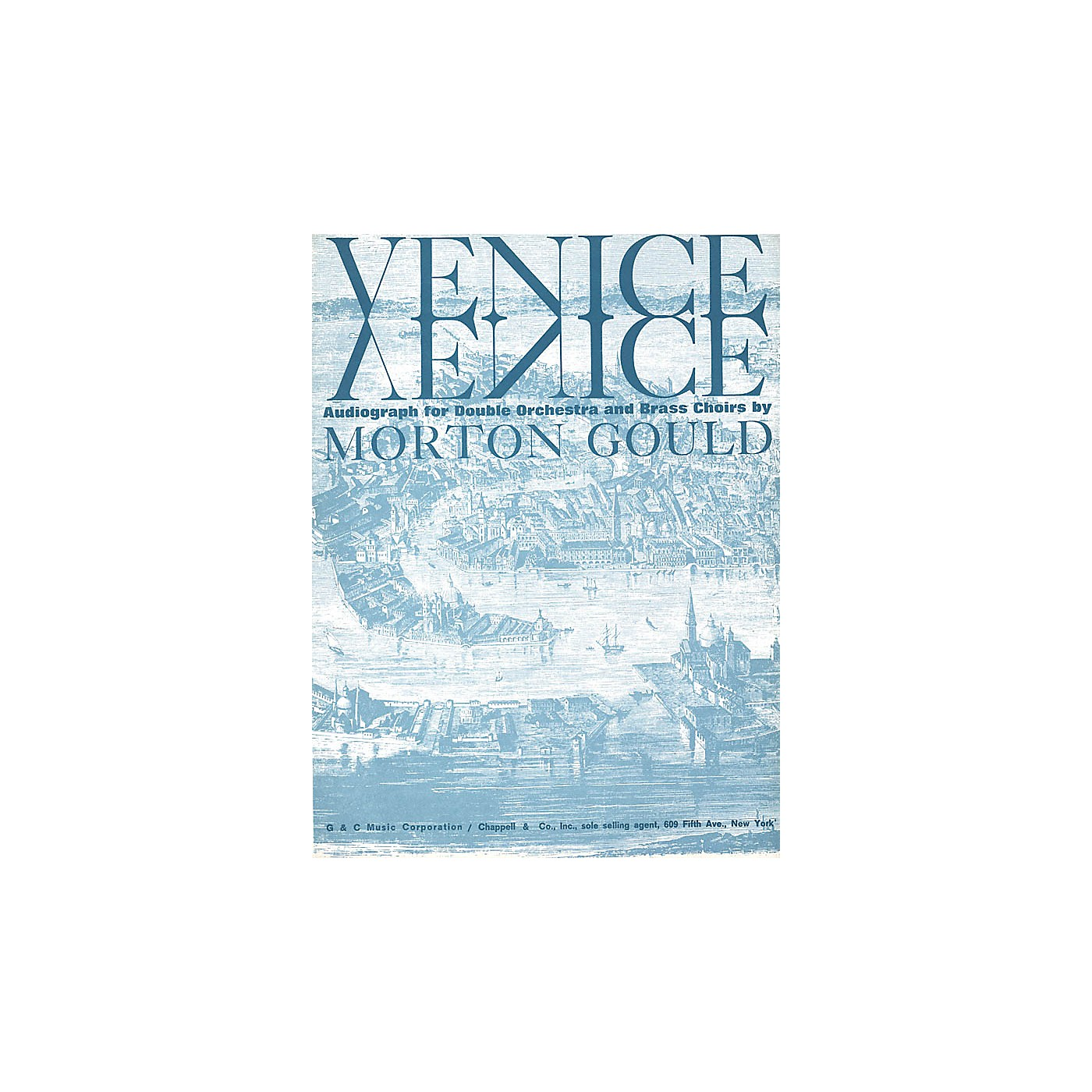G. Schirmer Venice (Full Score) Orchestra Series by Morton Gould thumbnail