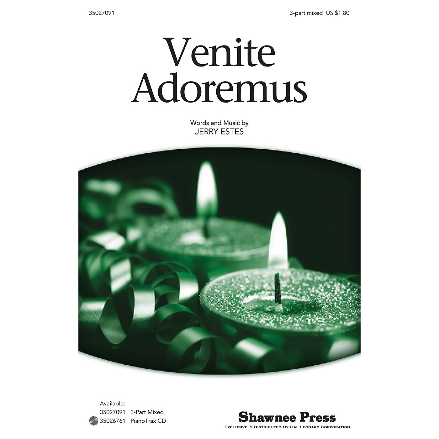 Shawnee Press Venite Adoremus 3-Part Mixed composed by Jerry Estes thumbnail