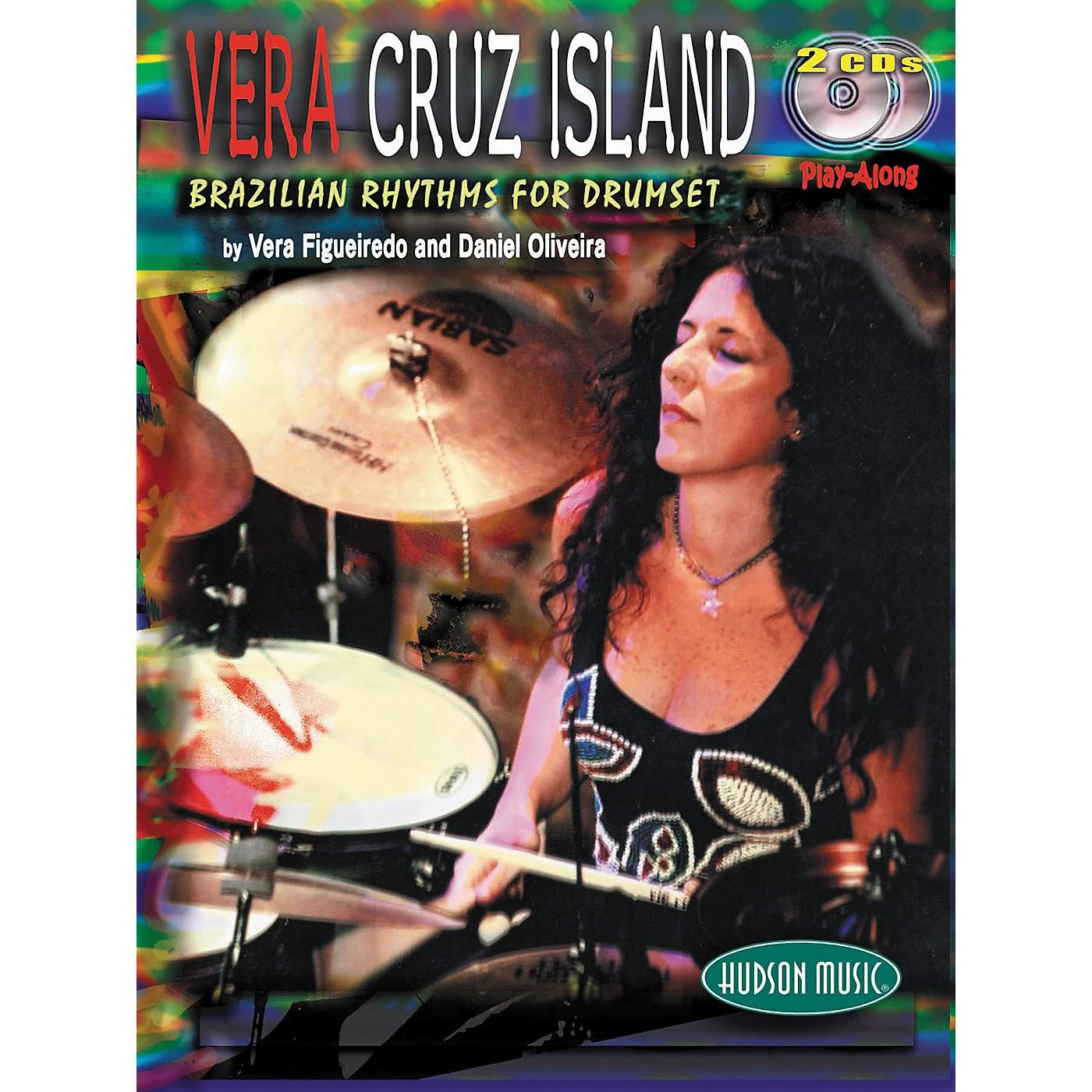 Hudson Music Vera Cruz Island: Brazilian Rhythms for Drumset (Book/2-CD Set) thumbnail