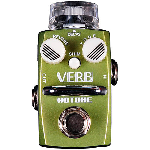 Hotone Effects Verb Digital Reverb Skyline Series Guitar Effects Pedal thumbnail