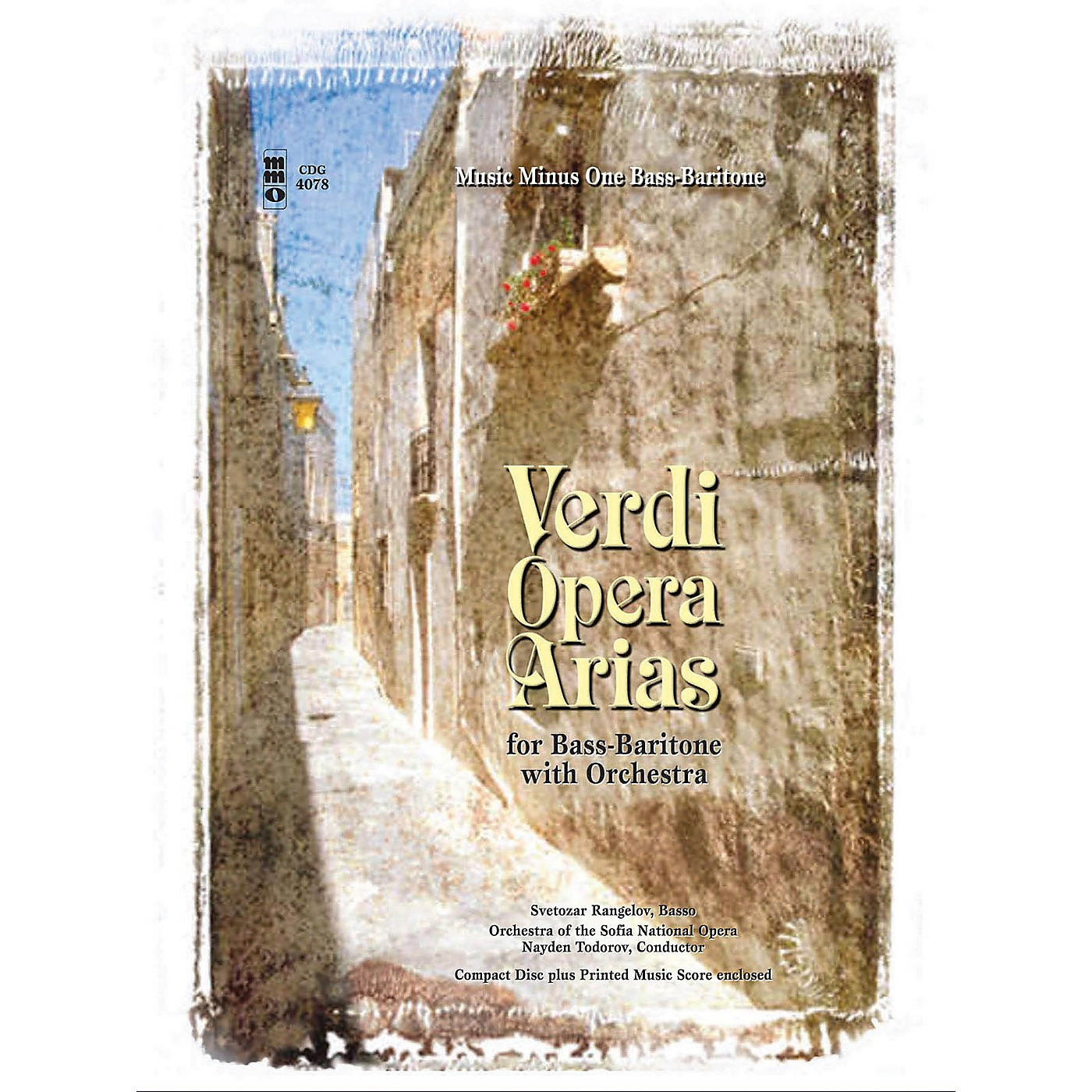Music Minus One Verdi - Bass-Baritone Arias with Orchestra Music Minus One Series Softcover with CD by Giuseppe Verdi thumbnail