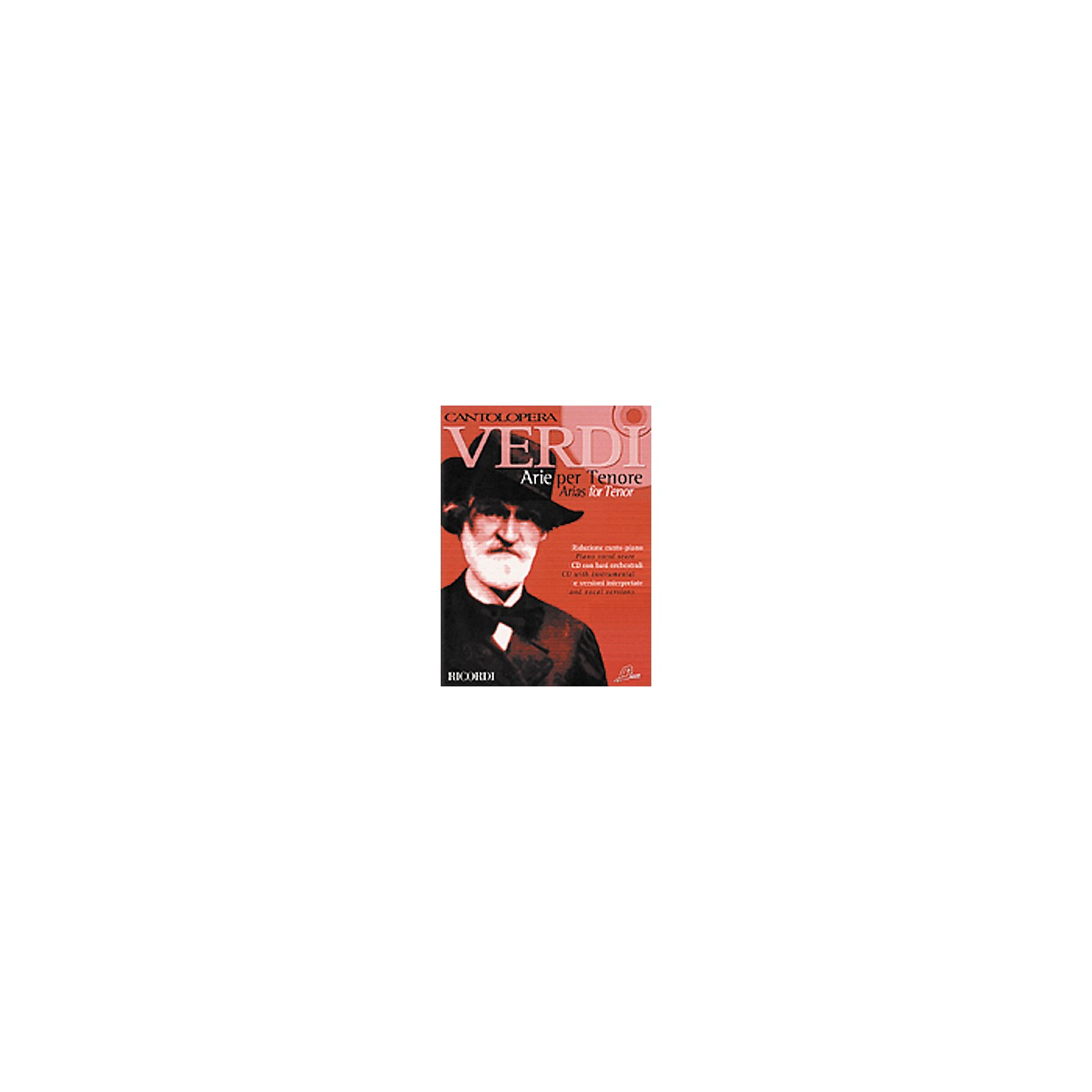 Hal Leonard Verdi Arias for Tenor thumbnail